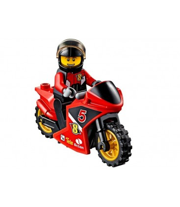 LEGO® Transportor de motociclete de cursa [60084]