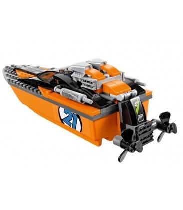 LEGO® 4x4 cu barca motorizata [60085]