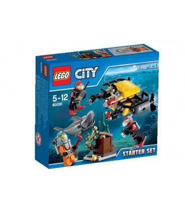 LEGO® In largul marii - Set pentru incepatori [60091]