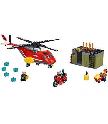 LEGO® Unitatea de interventie de pompieri [60108]