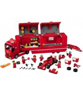 LEGO® F14 T si camionul echipei Ferrari [75913]