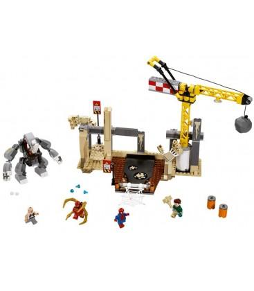 LEGO® Alaturarea super malefica de forte dintre Rhino si Sandman [76037]