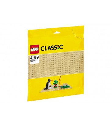 LEGO® Placa de baza crem [10699]