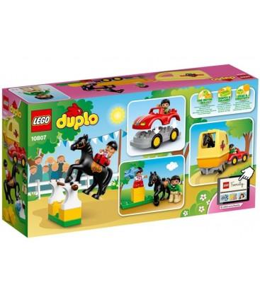 LEGO® Masina cu remorca pentru cai [10807]
