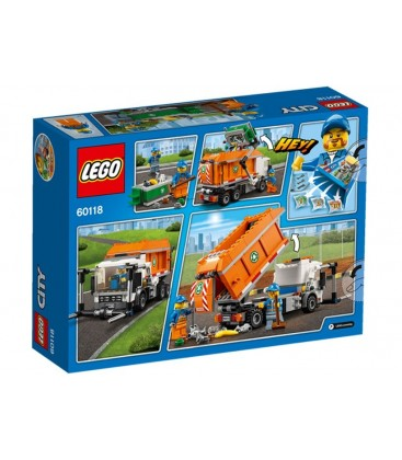 LEGO® Camion pentru gunoi [60118]