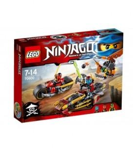 LEGO® Urmarirea Ninja cu motocicleta [70600]