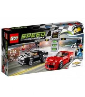 LEGO® Cursa de dragstere Chevrolet Camaro [75874]