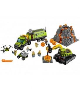 LEGO® Baza de explorare a vulcanului [60124]
