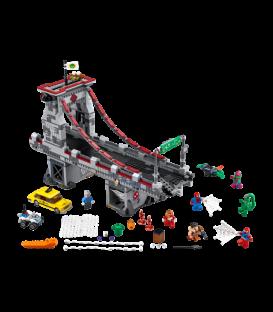 LEGO® Omul Paianjen: Lupta suprema de pe pod a razboinicilor Web [76057]
