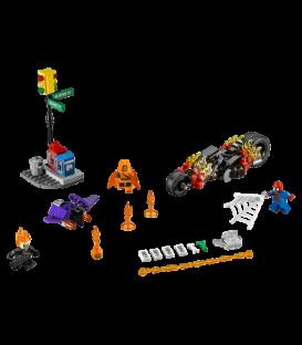LEGO® Omul Paianjen: Alaturarea fortelor Calaretului fantoma [76058]