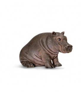 Figurina animal HIPOPOTAM PUI