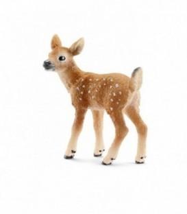 Figurina Animale Pui de cerb de Virginia