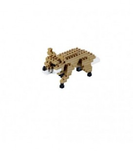 Vulpe. Set Constructie 3D Micro Cub - 200.032