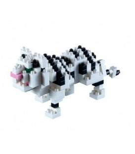 Tigru Alb. Set Constructie 3D Micro Cub - 200.073