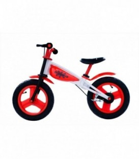 Bicicleta Copii Fara Pedale - Spartan, JD, Rosu