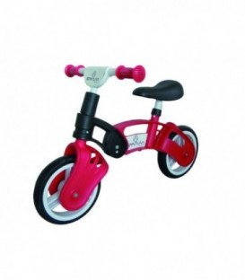 Bicicleta Copii Fara Pedale - Spartan, Lupo, 10 inch, Rosu