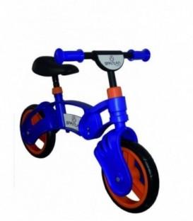 Bicicleta Copii Fara Pedale - Spartan, Lupo, 10 inch, Albastru