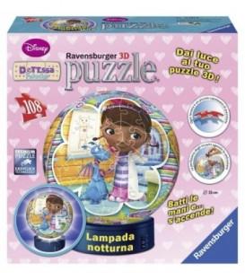 PUZZLE 3D LUMINOS DOCTORITA PLUSICA, 108 PIESE