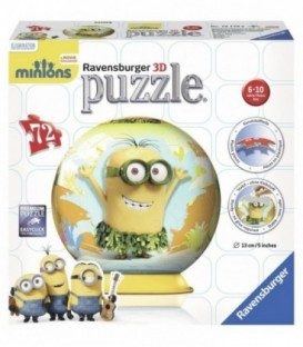 PUZZLE 3D MINIONS, 72 PIESE