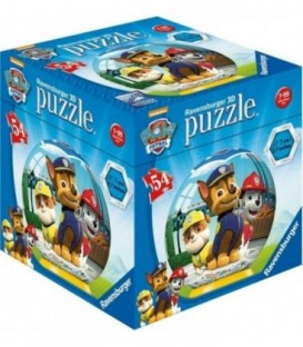 PUZZLE 3D PAW PATROL, 54 PIESE