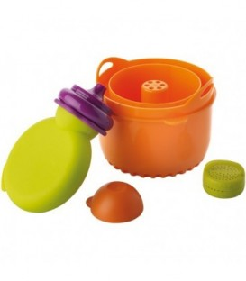 Set accesorii Babycook Original (Recipient Babypote + dispozitiv orez/paste + recipient condimente)