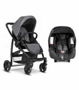 Carucior Evo 2 in 1 TS - Charcoal
