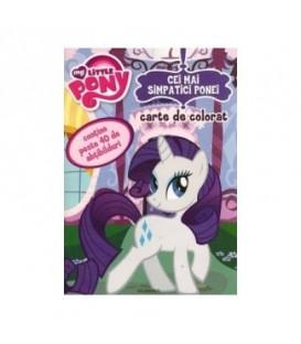 Carte de Colorat My Little Pony - Cei mai Simpatici Ponei