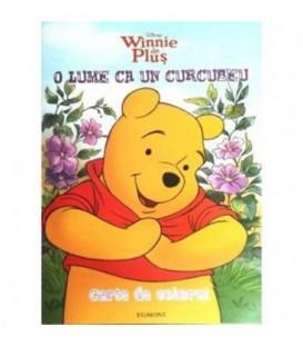 Carte de Colorat Winnie de Plus - O Lume ca un Curcubeu