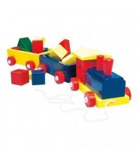 Trenuletul Colorat cu Forme