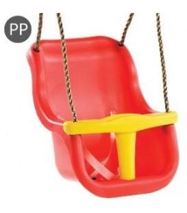 Leagan Baby Seat LUXE Culoare: Rosu/Galben franghie: PP 10