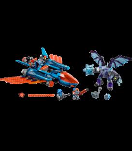LEGO® Avionul Falcon Blaster al lui Clay [70351]