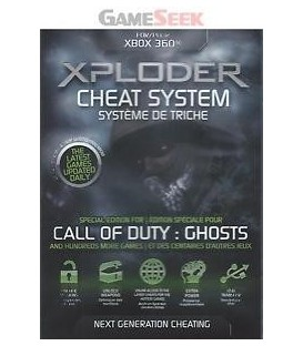 Xploder Cheat System Call Of Duty Ghosts Edition Xbox360